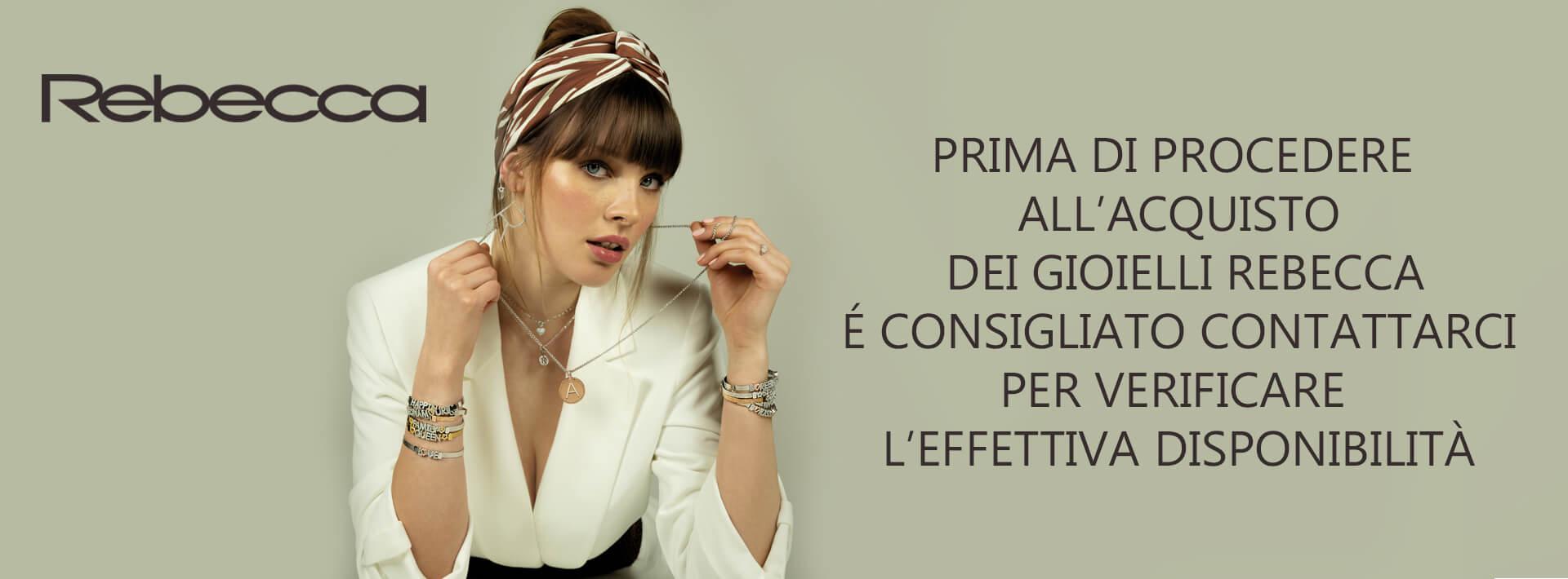 Collezione Rebecca, gioielli donna, idee regalo; Bellipario Gioielleria Palo del Colle, Gioielleria provincia di Bari; Outlet Gioielli
