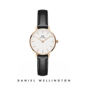 Orologio Daniel Wellington, collezione Petite Pressed Sheffield, orologi uomo, orologi donna, orologi alla moda, orologio cecilia rodriguez, chiara ferragni, orologio placcato oro, cinturino in pelle nero, orologi gioielli, idee regalo, outlet.