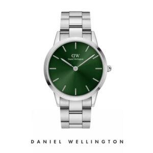 Orologio Daniel Wellington, collezione Iconic Link Emerald, orologi uomo, quadrante verde, orologi donna, orologi alla moda, orologio cecilia rodriguez, chiara ferragni, orologio oro, cinturino maglia in acciaio, orologi gioielli, idee regalo, outlet.